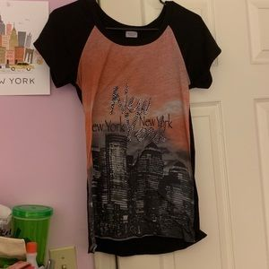 Charming Charlie New York City Bling Top